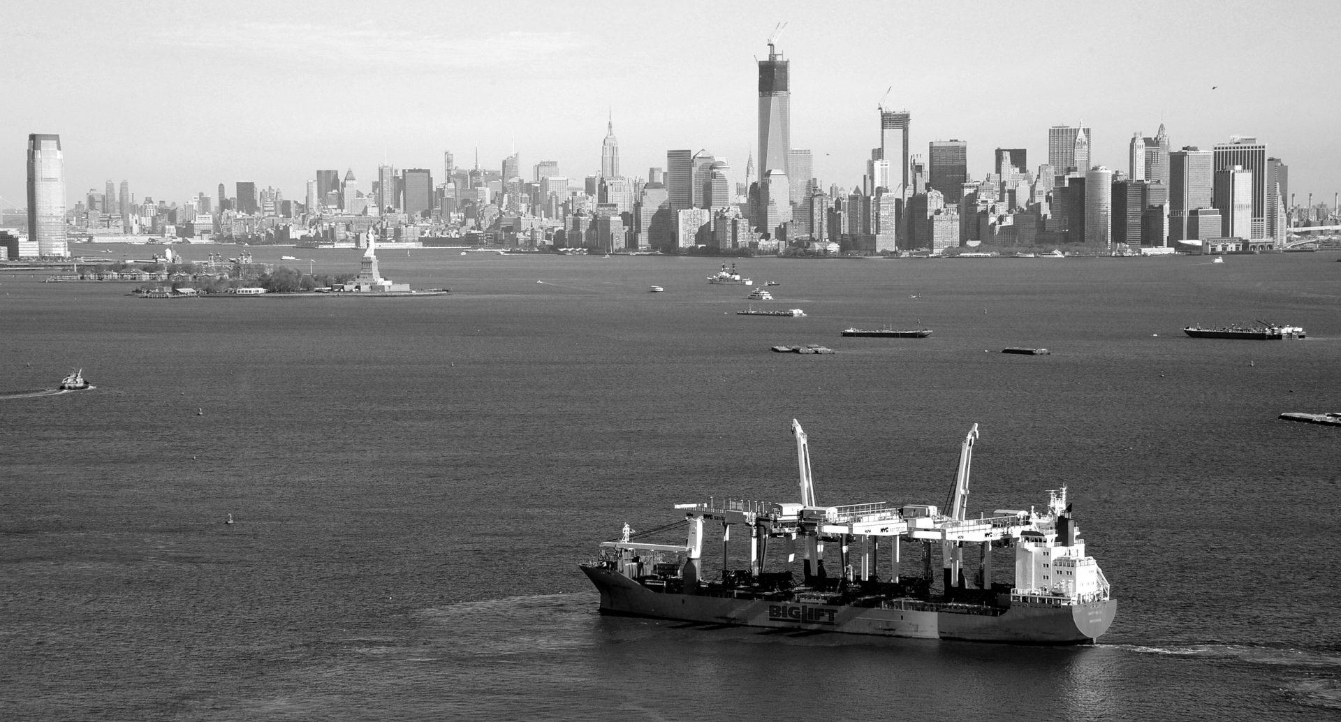 containerschip new york